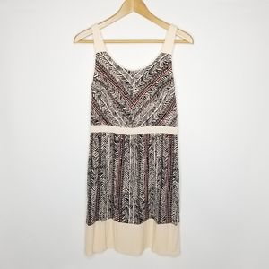 Ann Taylor LOFT Tribal Print Casual Mini Dress